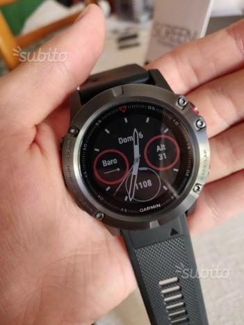 Sportwatch Garmin Fenix 5X 5 X come nuovo