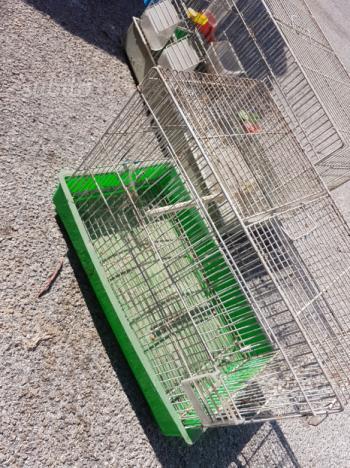 Gabbietta per uccelli e accessori