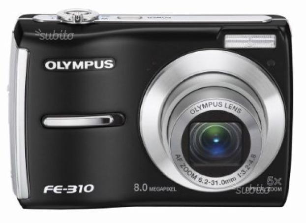 Olympus FE 310 fotocamera digitale con zoom