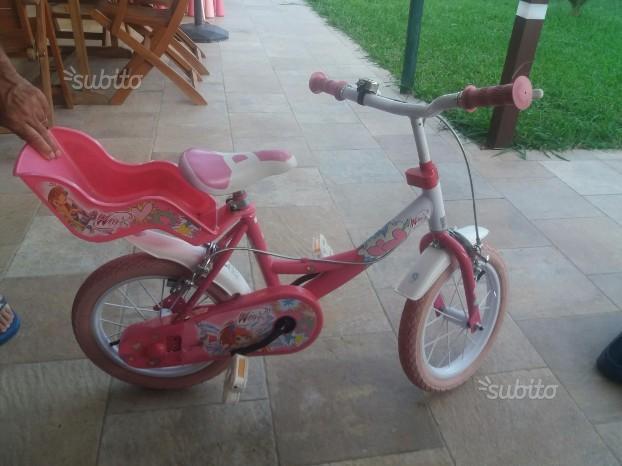 Bicicletta bimba Winx