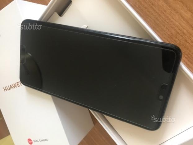 Huawei P 20 Black dual Sim 128 gb