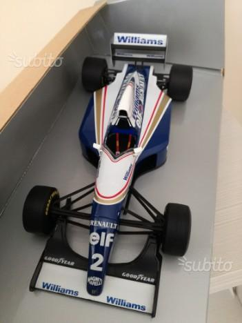 1:18 Williams Renault FW15 Senna test Estoril