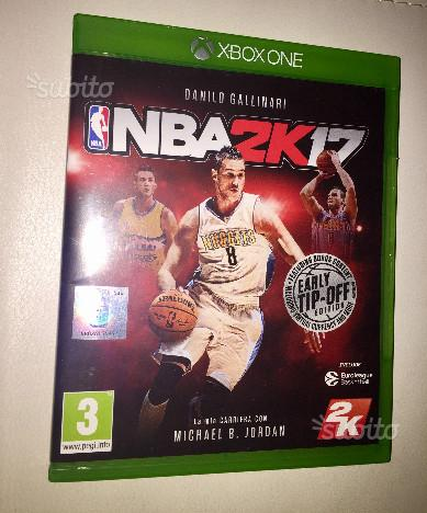 Gioco Nba2k17 per xbox one