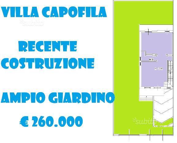 Parete Villa su 4 Livelli da 70 mq Ampio Giardino