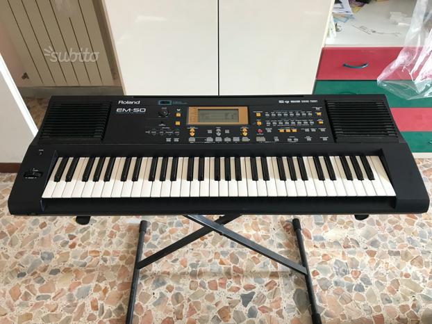 Tastiera Roland EM-50
