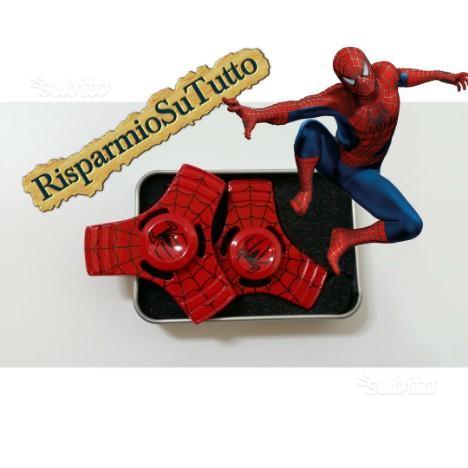 Fidget Spinner Super Eroe L'Uomo Ragno Rosso Spide