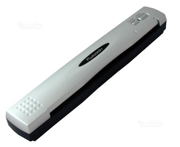 Scanner portatile con unico cavo per trasmissione
