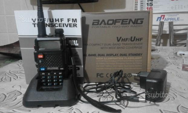 Ricetrasmittente Vhf/UHF Baofeng