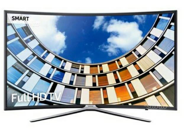 Tv samsung 55 pollici smart-tv schermo curvo