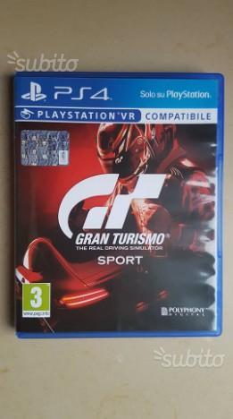 Gran Turismo Sport PS4, Nuovo