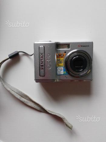 Fotocamera digitale + scheda esterna