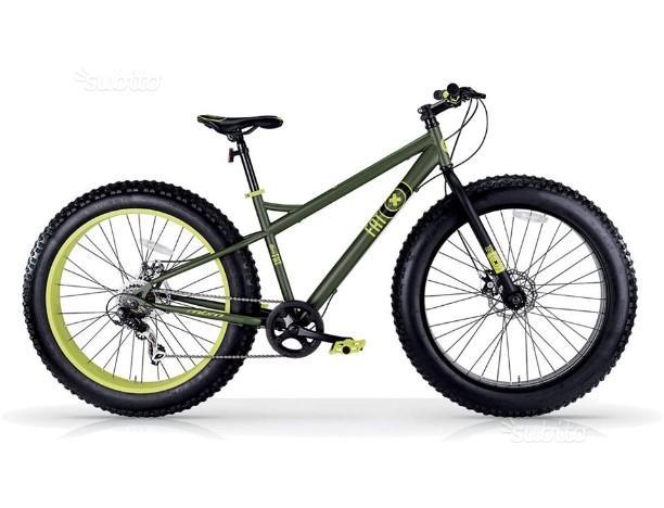 Fat bike (mbm) verde (NUOVE)