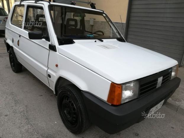 Fiat panda cilindrata 750 d'epoca anno 1992