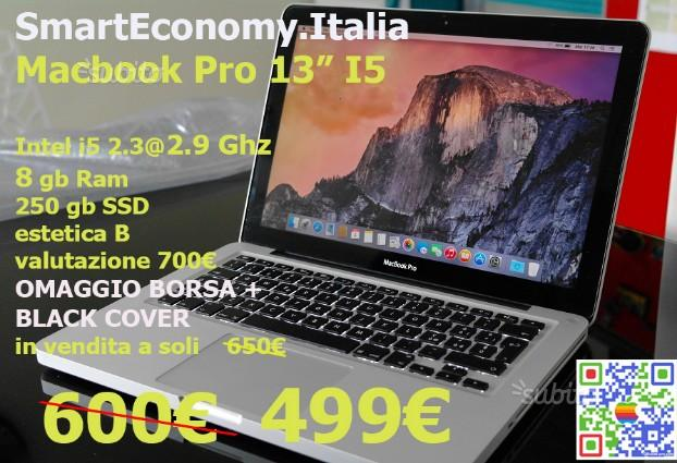 "Apple MACBOOK PRO 13"" intel i5 -SSD - SMARTECONOMY"