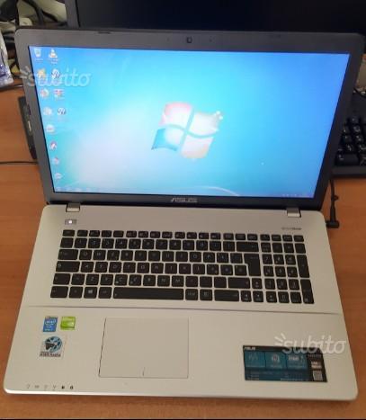"""ASUS X750J - I7 8GB 17,3"""" 1TB GeForce GT 840M 2GB"""
