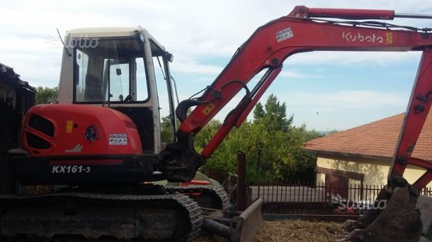 Escavatore kubota 53 ql