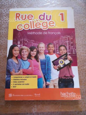 Libro di Francese Rue du collège 1