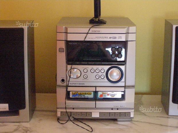 Stereo lettore compact disc