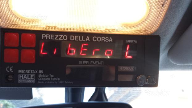 Licenza Taxi