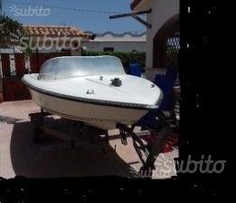 Motoscafo Plastimare 420 e motor SelvaSport 25cv