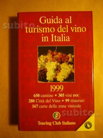Libro turismo vino d'Italia touring club