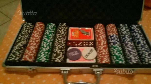 Kit 500 Fischer per poker