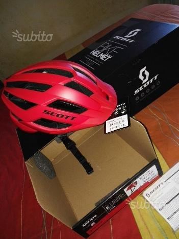 Casco Scott Arx MTB red
