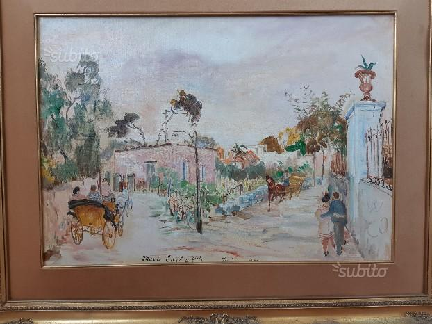 Quadro del pittore Mario Cortiello