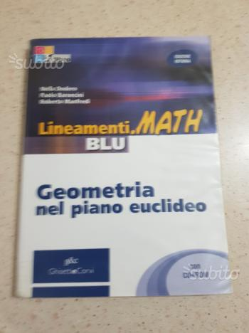 Lineamenti.Math Blu - Geometria