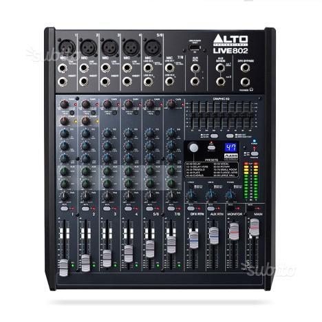Mixer Alto live 802