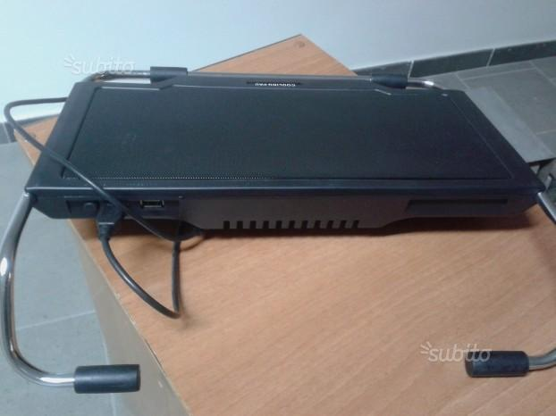 Supporto per notebook cooling pad