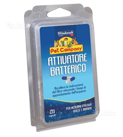 Attivatore batterico per acquario