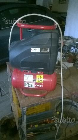 Compressore portatile aria a secco 6 litri Fini