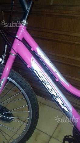 Bicicletta lady mtb
