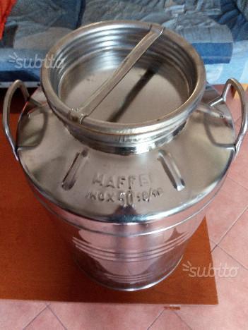 Bidone di acciaio inossidabile per olio 50 lt