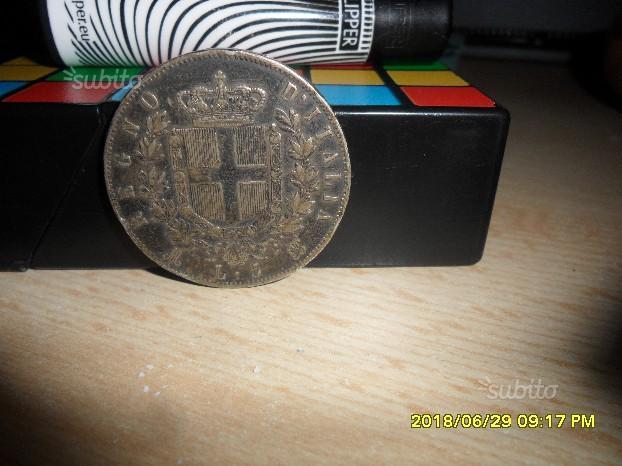 10 tornesi e 5 lire antiche
