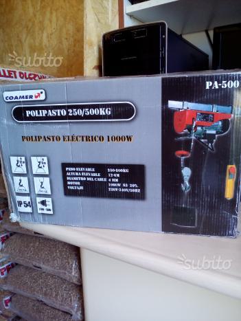 Polipastro elettrico 1000 w