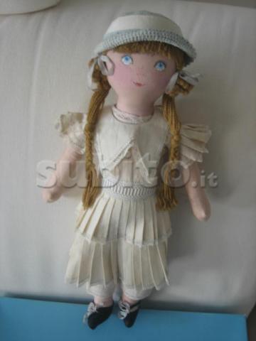 Bambola francese Poupée Vintage