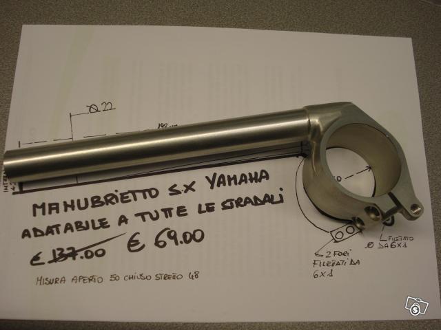 Manubrietto sx per yamaha stradali