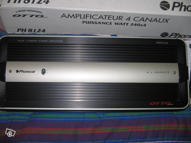 Amplificatore phonocar ph8124 nuovo