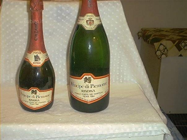 As.ROMA 1984 bottiglia finale coppa campioni unica