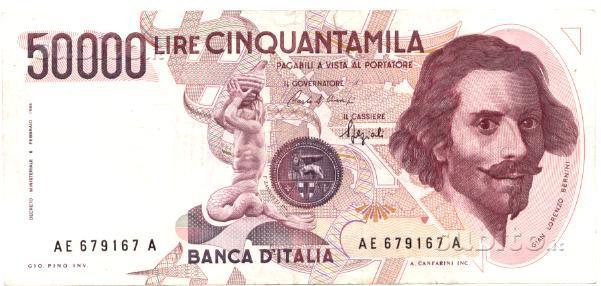 "50000 Bernini I'tipo lettera E ""R2"""