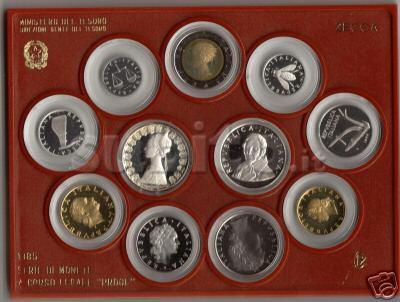 Divisionale fondo specchio 1985 Manzoni 11 v