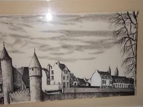 tekening OEVERWAL Maastricht.