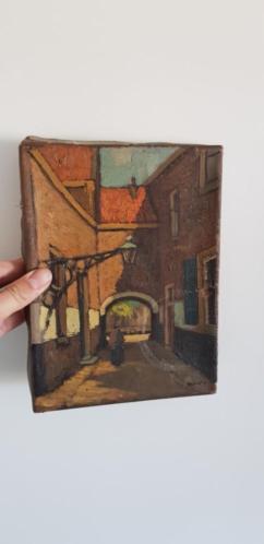 Oud schilderij uit erfenis