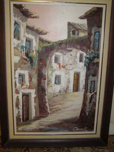 Italiaans schilderij van Conti (A18 2289) H