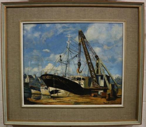 Max Ernest Clart, de scheepswerf