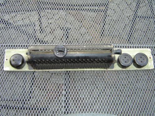 Oude Bakeliet gloeispiraal verwarming 110 volt