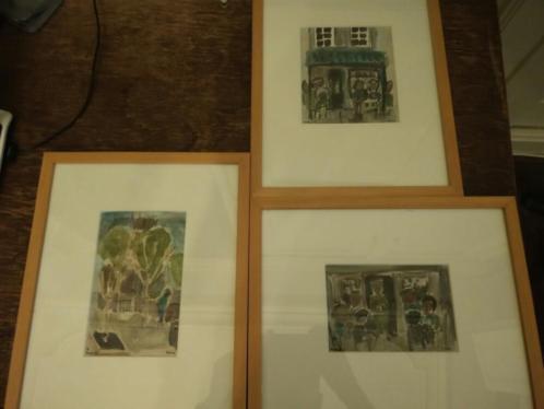 3 werken Willy Rams (Parijs, 1981) ingelijst