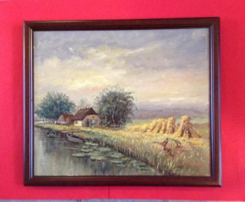 """Deventer - schalkhaar * schilderij stilleven van """"jan koning"""